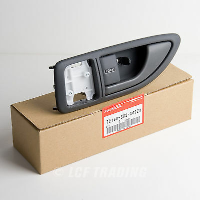 Genuine OEM Honda 93-95 Del-Sol Driver's Side Interior Door Handle 72160-SR2-A02
