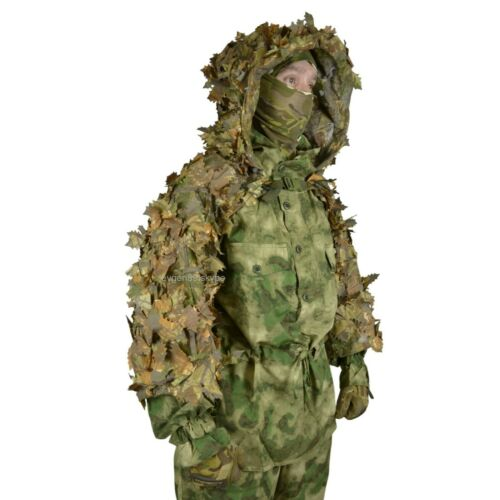 """Disguise Mesh Ghillie Sniper Coat """"Forester"""" 3D Autumn for Military / Airsoft"""