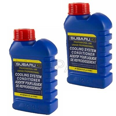 Cool Engine Coolant (Set of 2 4.4oz Engine Coolant Additives Cooling System Conditioner for)