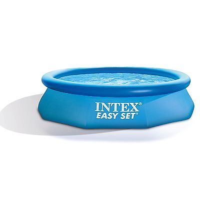 """Intex 10' x 30"""" Easy Set Exposed to Ground Swimming Pool with 330 GPH Filter Pump"""