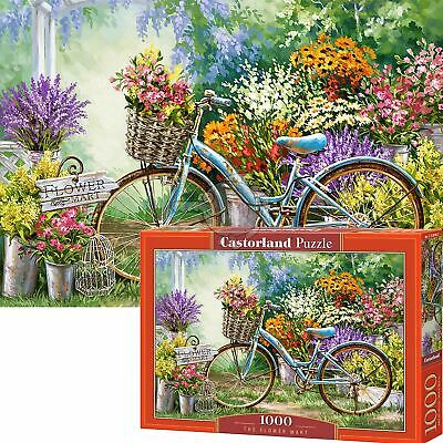 Castorland 1000 Piece Jigsaw Puzzle The Flower Mart