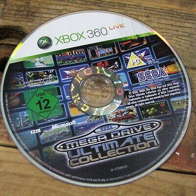 Sega Mega Drive ~ Ultimate Collection (XBOX 360) Retro Gaming *DISC