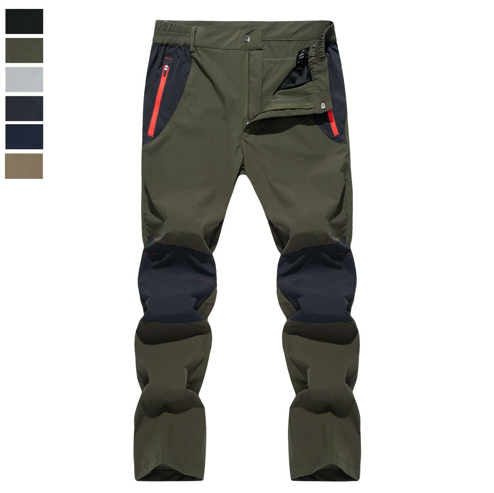 Men's Quick Drying Hiking Pants Lightweight Waterproof Outdo