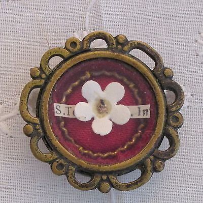 RARE RELIC THERESE LISIEUX RELIQUARY THERESE OF JESUS 'THE LITTLE FLOWER'
