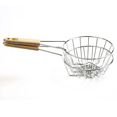 """Norpro 6"""" Tortilla Fryer Basket Bird"""