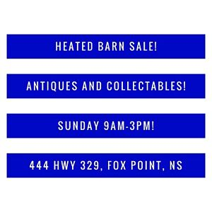 Antiques and collectables sale