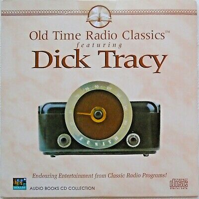 DICK TRACY - CD - Old Time Radio Classics - Audio Book - BRAND NEW