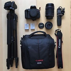 BEST 2 LENS DSLR STARTER KIT EVER! - Canon Camera Tripod Bag