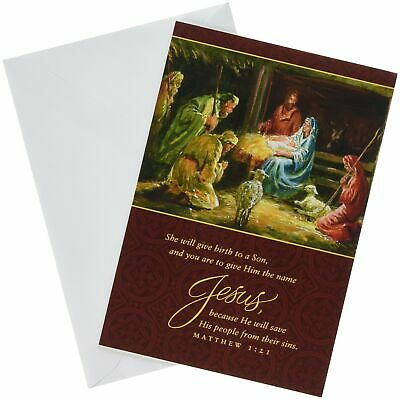 Christmas Boxed Cards - She Will Give Birth to a Son