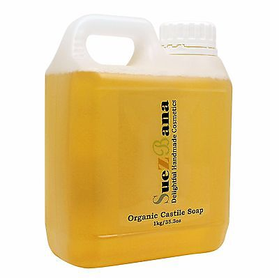 Pure Natural  Liquid Castile Soap Organic 1Kg