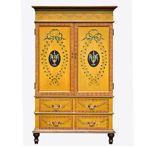 vintage henredon aston court collection armoire ebay. Black Bedroom Furniture Sets. Home Design Ideas