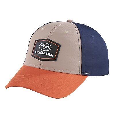 SUBARU Hat Genuine WRX Prime Mesh Cap Hat Impreza STI WRX Black Low Profile New
