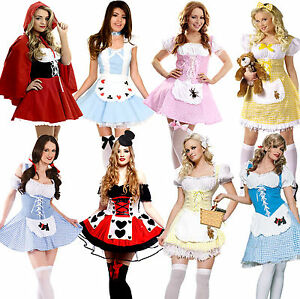 Ladies-Fairytale-Storybook-Character-Nursery-Rhyme-Fancy-Dress-Costume-Outfit