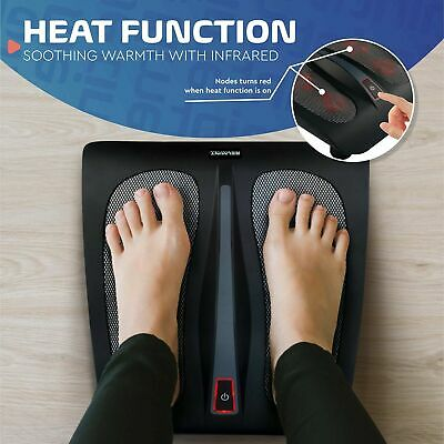 Belmint Shiatsu Foot Massager Machine with Heat - Rotating Heads & Soothing H...