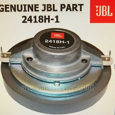 Speaker Drivers & Horns - Jbl 2418H on