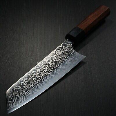 Japanese KATO SG2 Damascus Bunka Kitchen Chef Knife Honduras