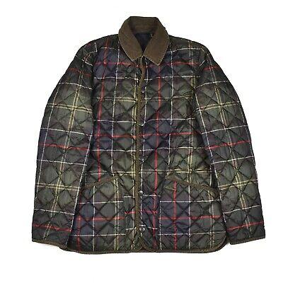 Barbour RARE Heritage Liddesdale Quilt Jacket Mens XL Nany Plaid Reversible
