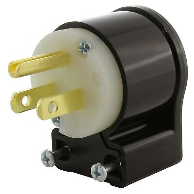 Nema 5-15p 15 Amp 125 Volt Multi-angle Household Plug By Ac Works