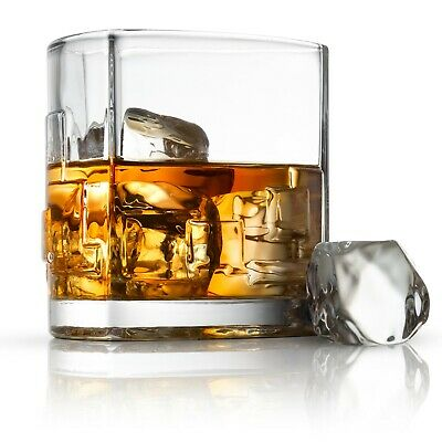 JoyJolt Revere Scotch Glass, 11 Oz Set of 2 Old Fashioned Whiskey Glasses