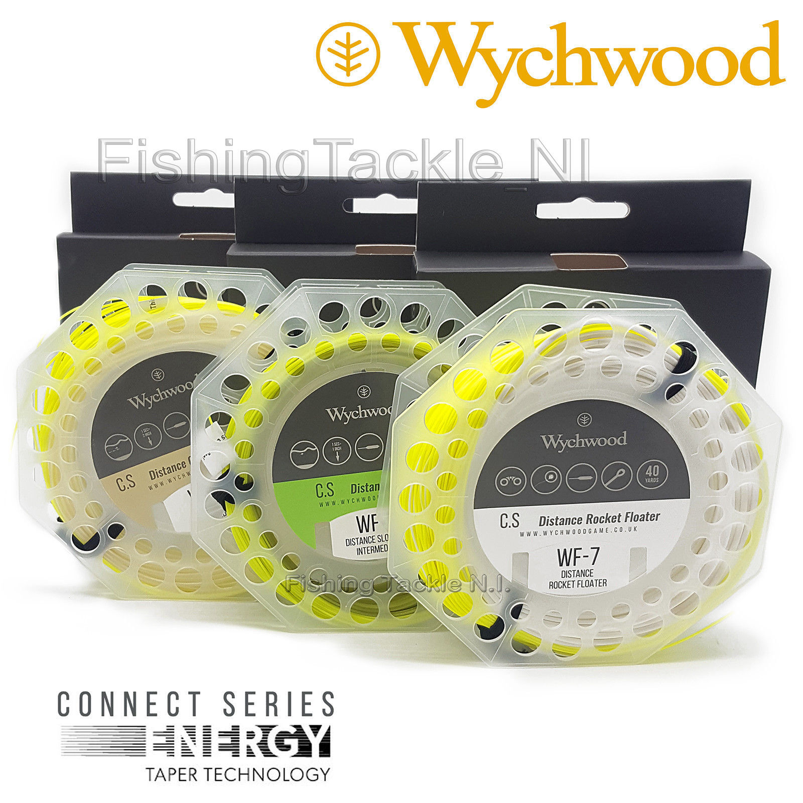 Wychwood Connect Series High Floating Weight Forward Fishing Fly Line All Sizes