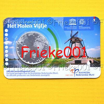 Nederland - Pays-Bas - 5 euro 2014 in blister.(Molenvijfje)