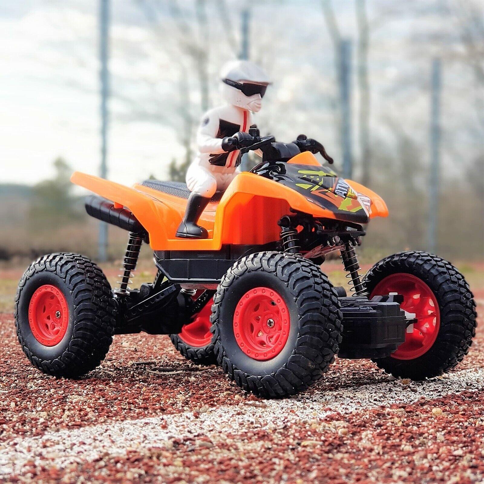 RC ferngesteuertes Motorrad 2064 ATV Quad Bike kinder geschenk spielzeug & Akku