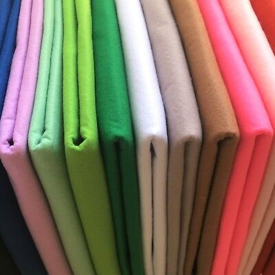 Innovative Supersoft Washable Polyester Craft Felt Sheets   Dense 1mm thickness