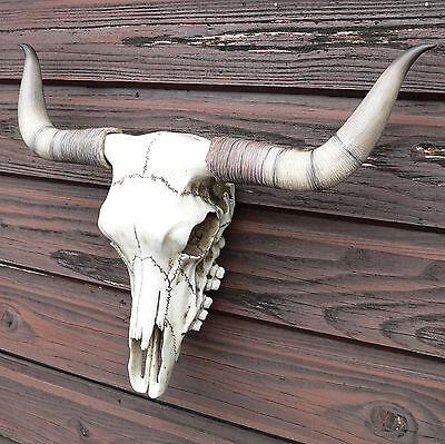 del Stierschädel Western Skull Horn Country Wacken kaufen NEU (Country Western Dekoration)