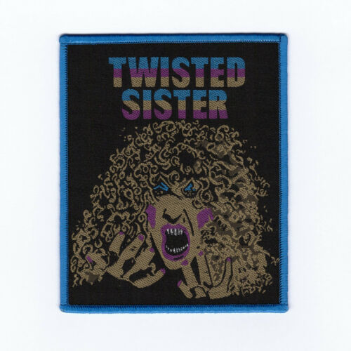 """Twisted Sister """"Dee"""" Reissue Patch wasp-quiet riot-motley crue-scorpions-accept"""