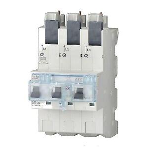 Hager SLS-Schalter 1-und 3polig mit Adapter und verschiedenen Amperegrößen