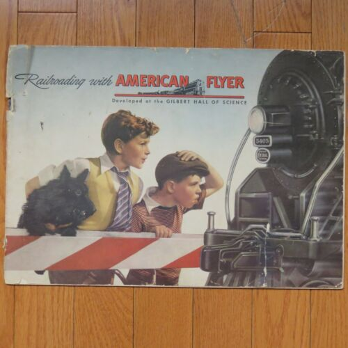 AMERICAN FLYER 1946 CATALOG - Oversized - Railroading with American Flyer
