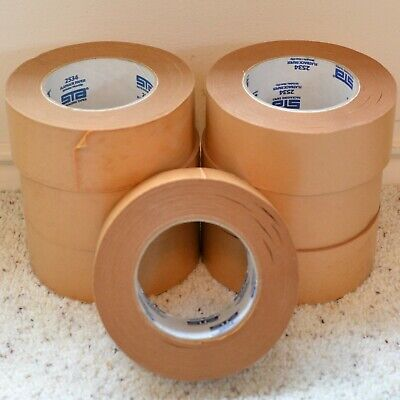 7 Rolls Of Sta Packaging Tapes Brown Flatback Paper Tape 2534