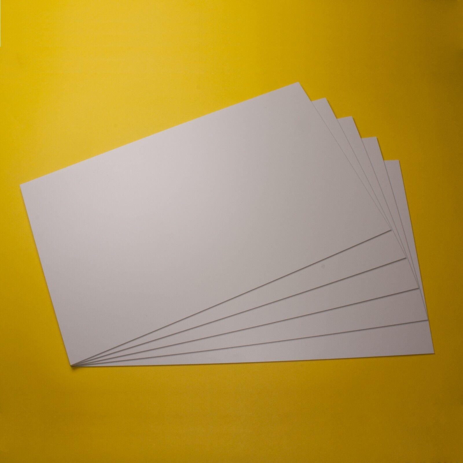 Polystyrol Platten PS Platte weiss in verschiedene Größen, Dicken und Mengen