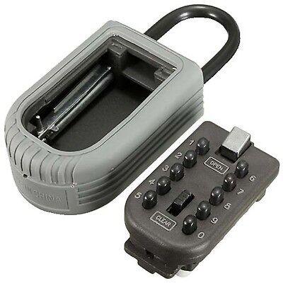 Combination Lock Storage Case Spare Keys Box Wall Mount Push Button Key Holder