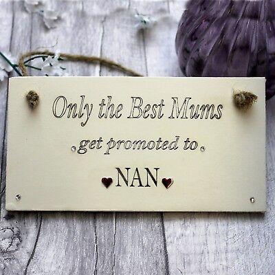 Nan Kitchen Gifts Sign Christmas Birthday Best Nanna Nanny Granny Hanging