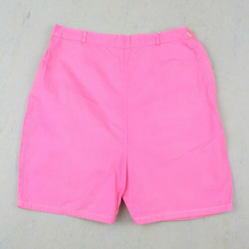 VTG 1950s Girls Shorts High Waist Bubblegum Pink 50s  5 6 7  #B05