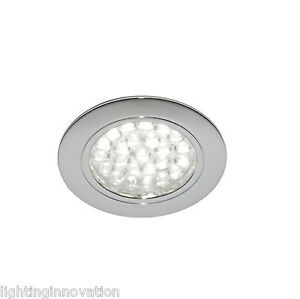 kitchen cabinet recessed lighting recessed led chrome kitchen cabinet flush cupboard 5679