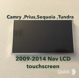 Camry ,Prius,Sequoia,Tundra Navigation Touchscreen LCD digitizer
