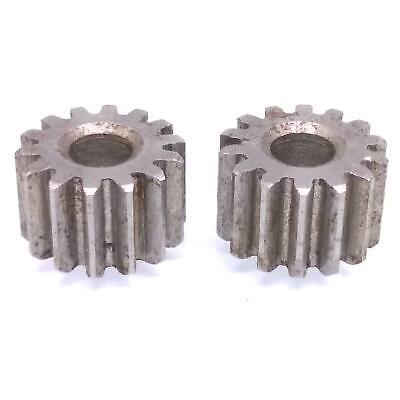 2pcs 1 Mod 48T Spur Gear 45# Steel Motor Pinion Gear Thickness 10mm