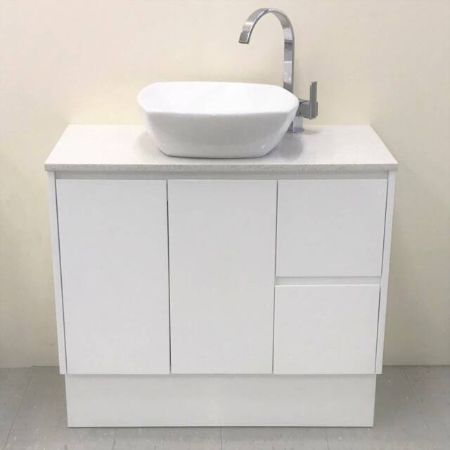 S 900mm Stone Top Vanity Now From