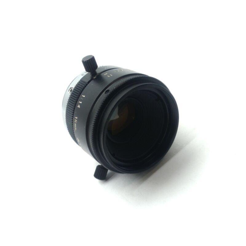 """Tamron 23FM16L CCTV Camera Lens, 2/3"""" Sensor, 16mm FL, F/1.4-16, C-Mount"""