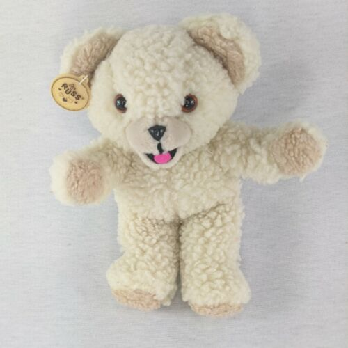 """Vintage 1986 Lever Bro Snuggle Bear Russ Berrie Co 10"""" Laundry Detergent"""