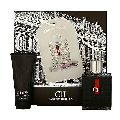 Carolina Herrera Ch Men 2 Piece Gift Set Eau De Toilette Spray 100Ml Nib