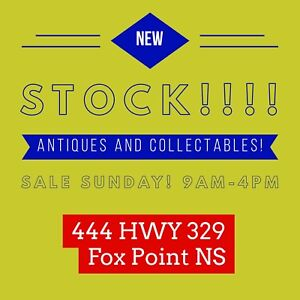 Antiques and Collectables Sale Sunday