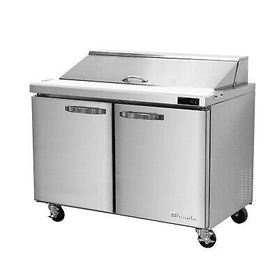 Blueair Two Doors 36 Refrigerated Sandwichsalad Prep Table Cooler Blpt36-hc
