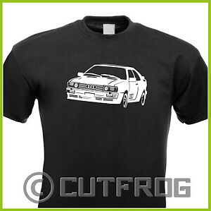 design t shirt audi 1980 quattro urquattro sport race. Black Bedroom Furniture Sets. Home Design Ideas