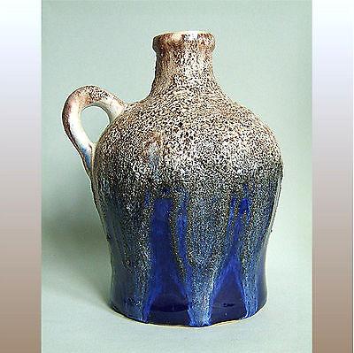 * Breite Krugvase * Fat Lava Glasur * 60er 70er Jahre * german pottery * DDR GDR