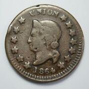 1865 Civil War Token
