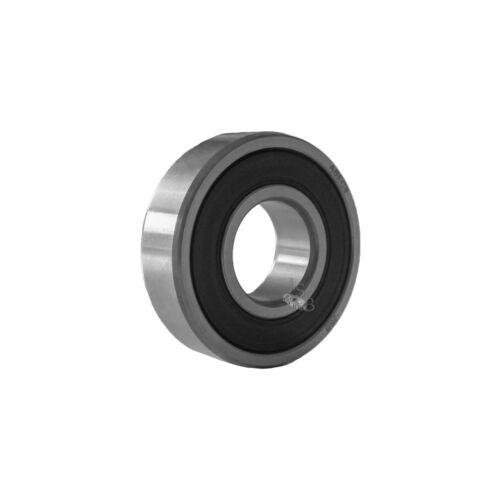 (Qty.2) Bearing 6006-2RS JSB brand ABEC3 premium rubber seal ball bearing 6006