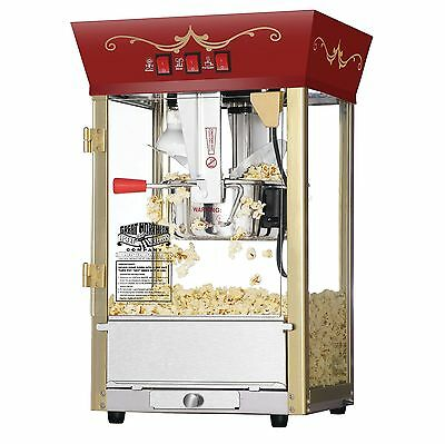 الة صنع الفشار جديد Great Northern Theater Style Popcorn Popper Machine Commercial PopCorn Maker New